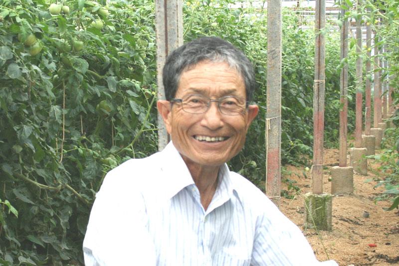 トマトの長野さん