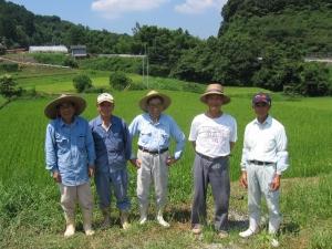 S阿下特別栽培米部会の皆さん